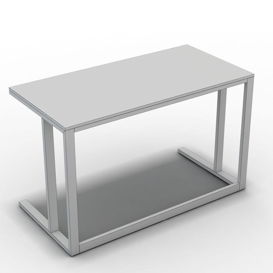 Crate & Barrel - Escritorio Pilsen 48 royalty-free modelo 3d - Preview no. 6