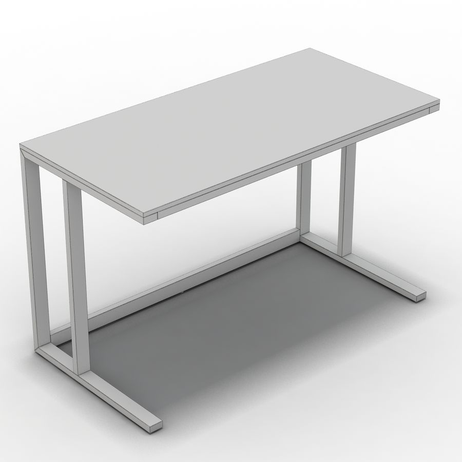Sandık ve Fıçı - Pilsen 48 Desk royalty-free 3d model - Preview no. 10