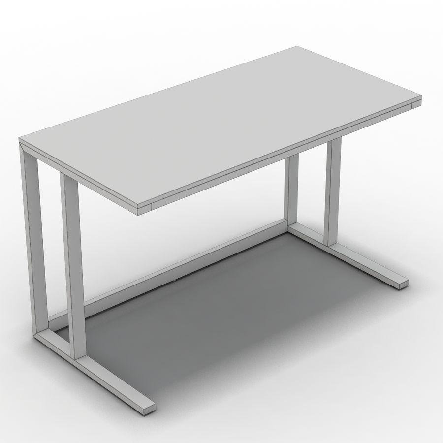 Crate & Barrel - Escritorio Pilsen 48 royalty-free modelo 3d - Preview no. 10