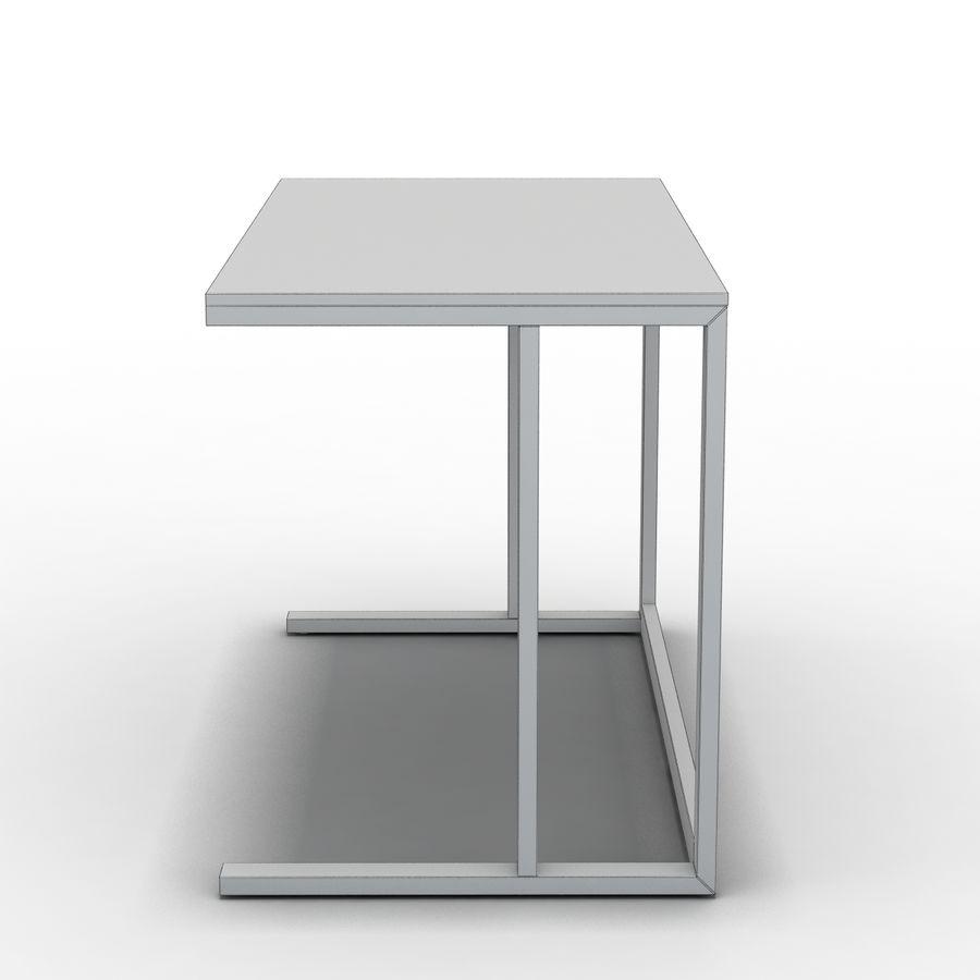 Crate & Barrel - Escritorio Pilsen 48 royalty-free modelo 3d - Preview no. 4