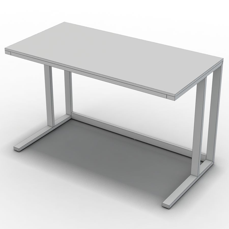 Sandık ve Fıçı - Pilsen 48 Desk royalty-free 3d model - Preview no. 8