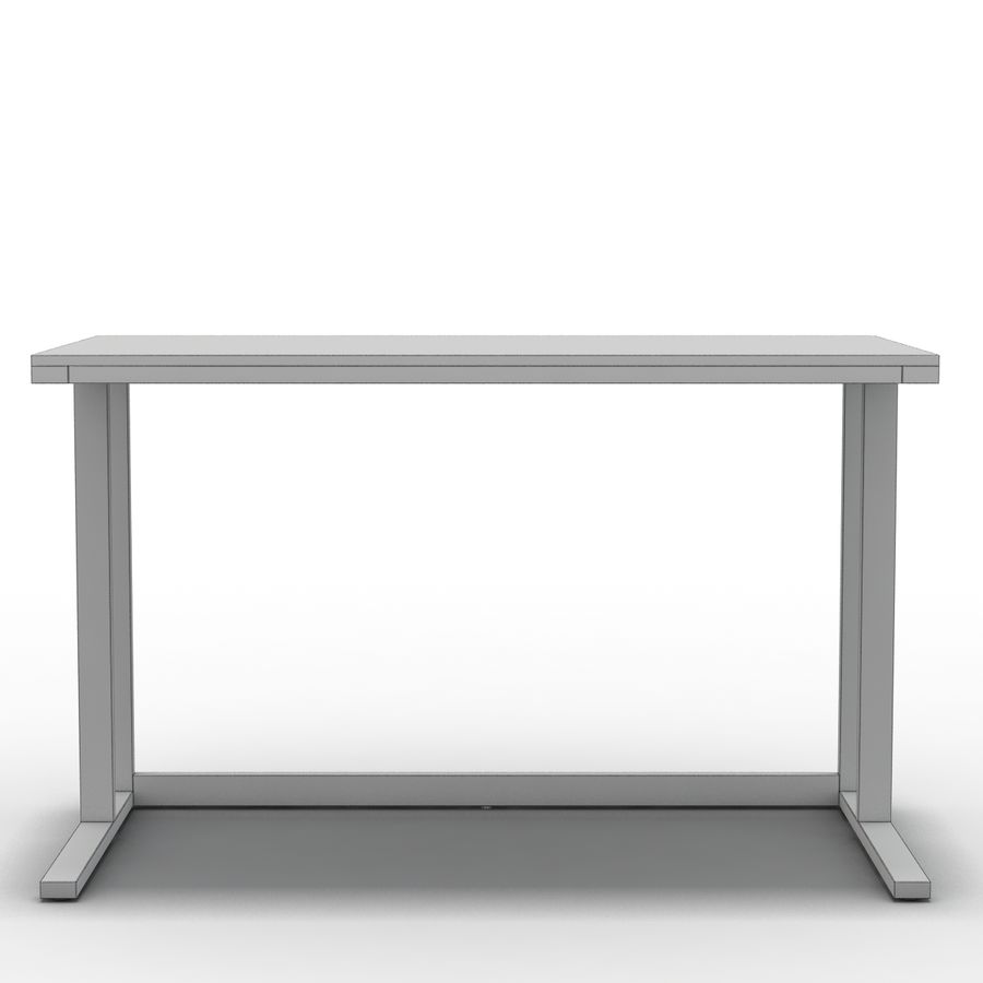 Crate & Barrel - Escritorio Pilsen 48 royalty-free modelo 3d - Preview no. 2