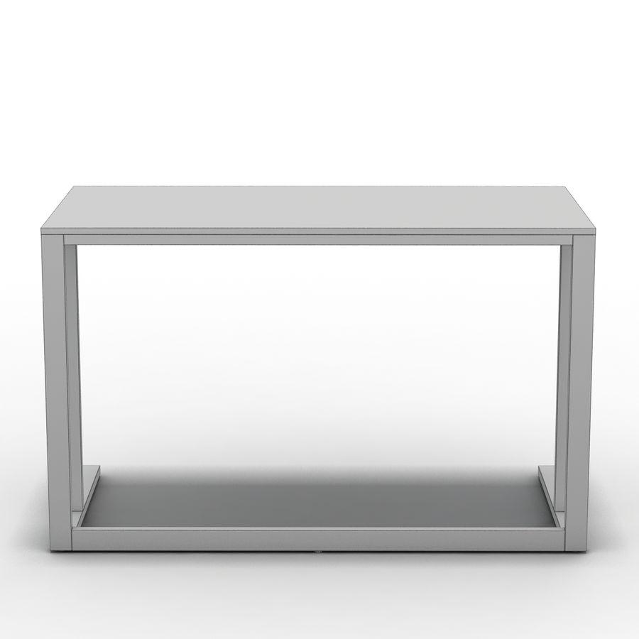 Crate & Barrel - Escritorio Pilsen 48 royalty-free modelo 3d - Preview no. 11