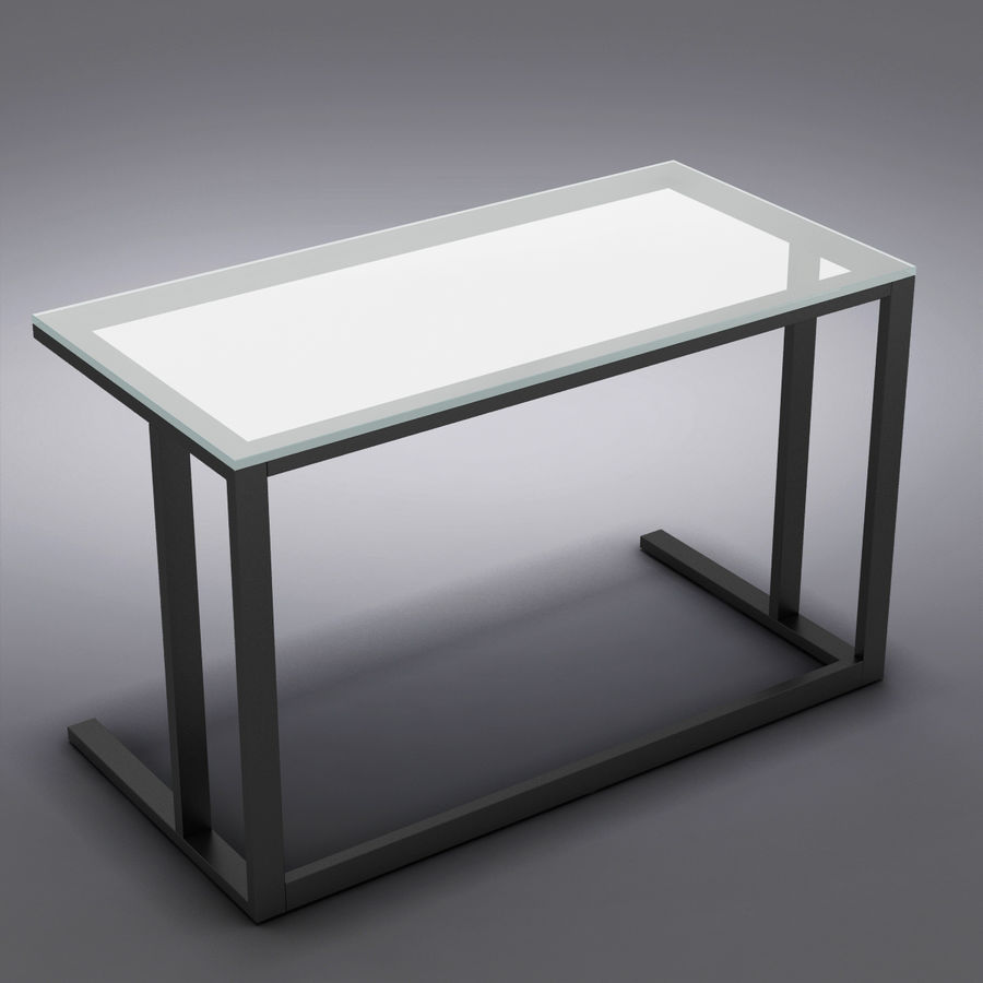 Sandık ve Fıçı - Pilsen 48 Desk royalty-free 3d model - Preview no. 7