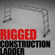 Escalera de construcción modelo 3d