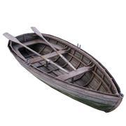 Altes Boot 3d model