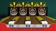 SkeeBall Carnival Game 3d model