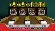 SkeeBall Carnival Game 3d model