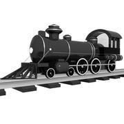 Train preloader 3d model