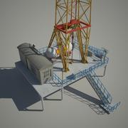 Wieża olejowa 3d model