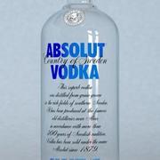 Butelka wódki Absolut 3d model