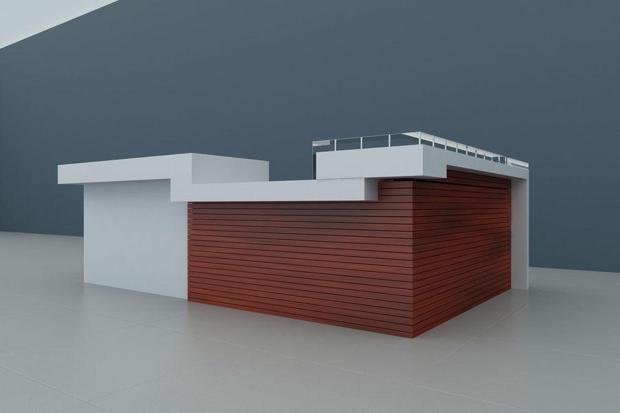 Resepsiyon masası royalty-free 3d model - Preview no. 2