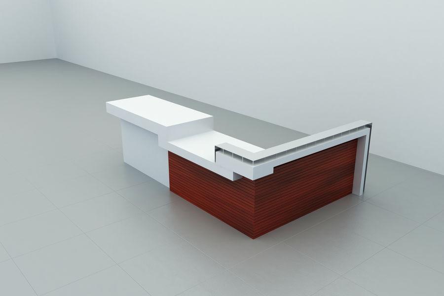 Resepsiyon masası royalty-free 3d model - Preview no. 1