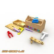 Игрушечный ящик для инструментов 3d model