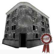 放棄された建物 3d model