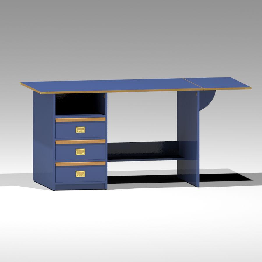 Desk royalty-free 3d model - Preview no. 1