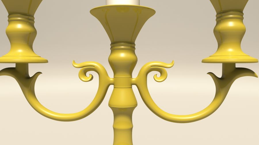 Candelabro royalty-free 3d model - Preview no. 8
