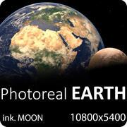 Terre réaliste 3d model