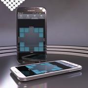Kolekcja Samsung Galaxy Note II 3d model