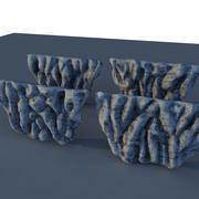 Acantilado Roca Modular modelo 3d