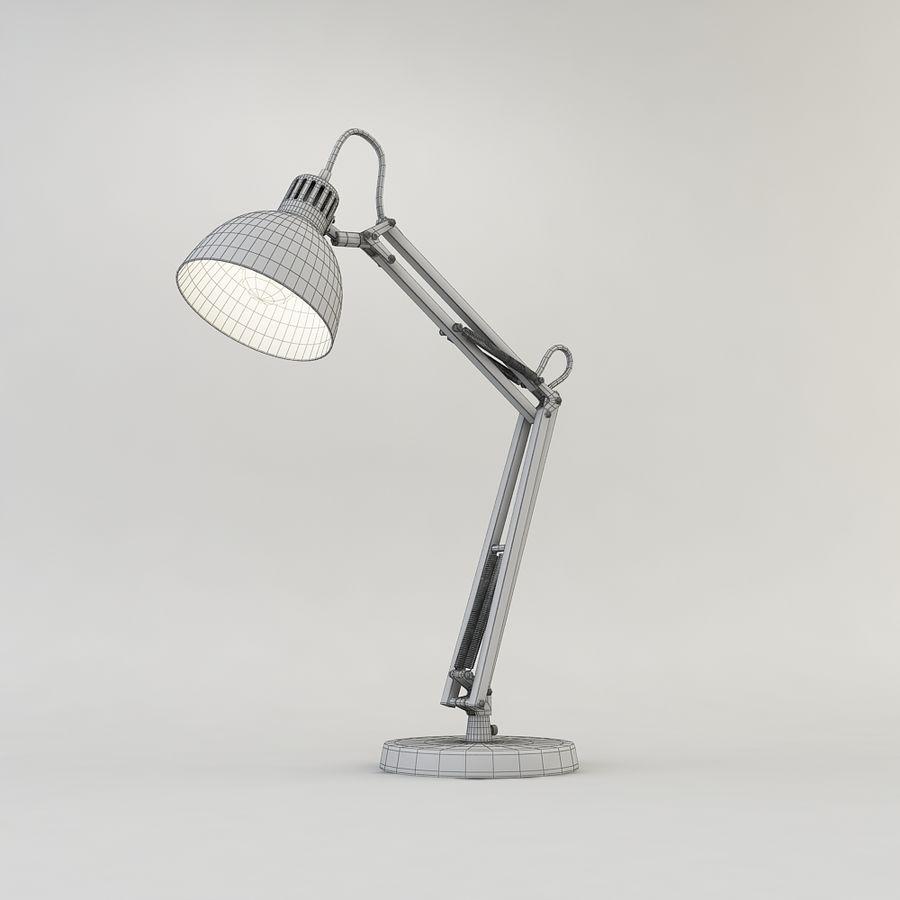 Schreibtischlampe Chrom royalty-free 3d model - Preview no. 5