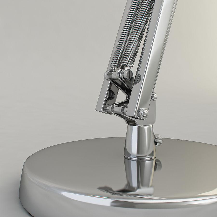 Schreibtischlampe Chrom royalty-free 3d model - Preview no. 11
