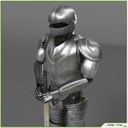 Средневековая броня 3d model