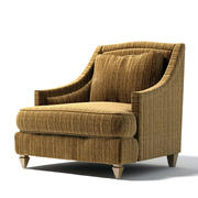 Donghia - TOULOUSE CLUB CHAIR 3d model
