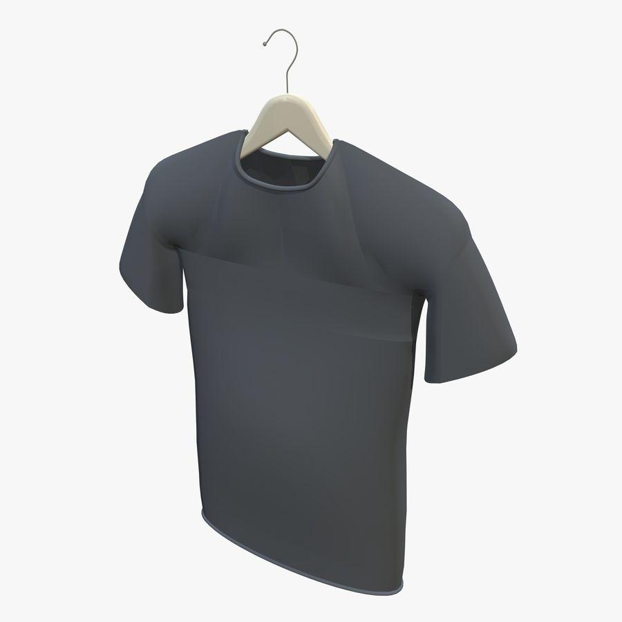 Koszulka na wieszaku royalty-free 3d model - Preview no. 8