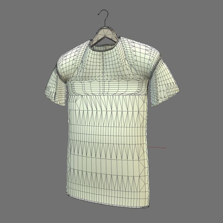 Koszulka na wieszaku royalty-free 3d model - Preview no. 11