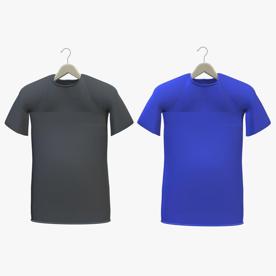 Koszulka na wieszaku royalty-free 3d model - Preview no. 1