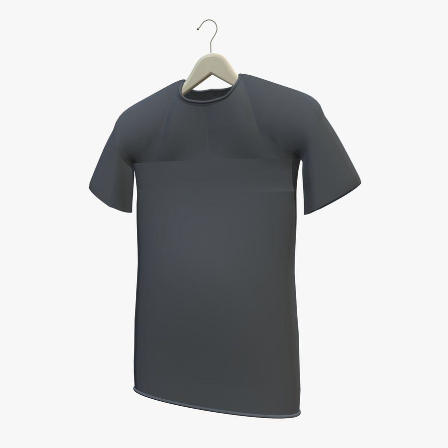 Koszulka na wieszaku royalty-free 3d model - Preview no. 7