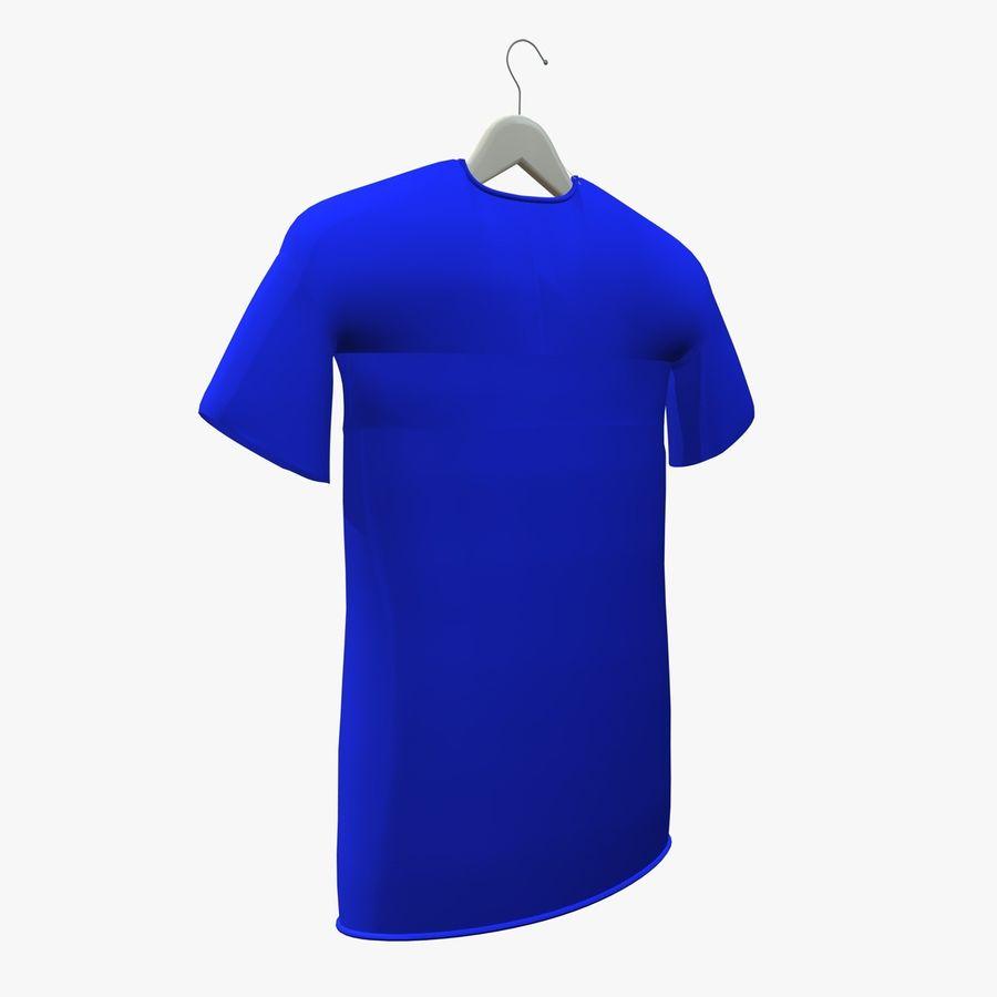 Koszulka na wieszaku royalty-free 3d model - Preview no. 5