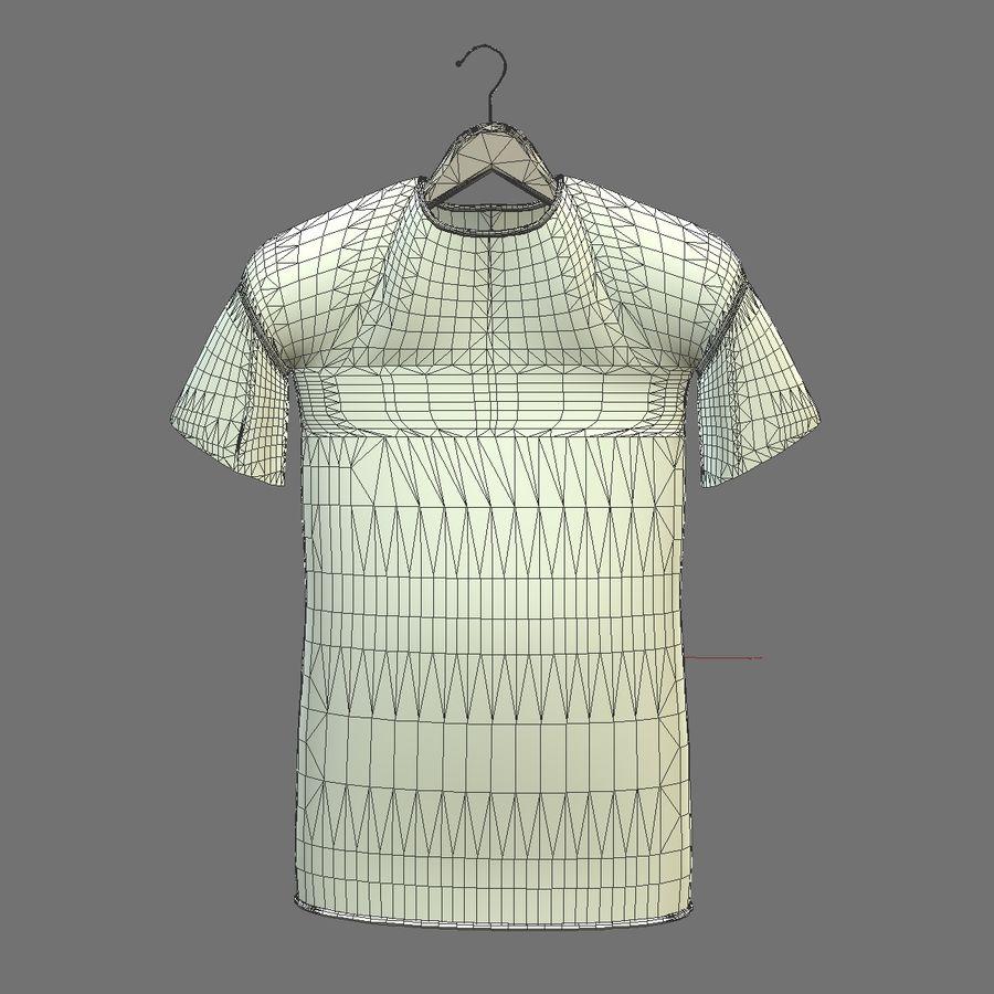 Koszulka na wieszaku royalty-free 3d model - Preview no. 10