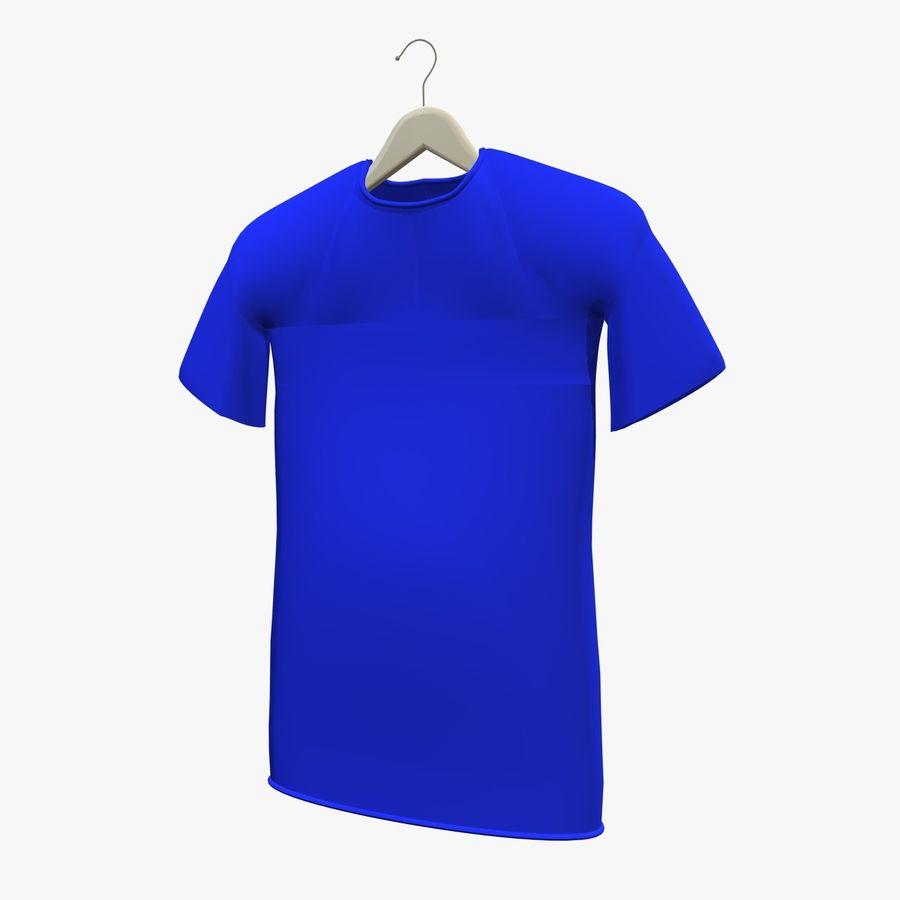 Koszulka na wieszaku royalty-free 3d model - Preview no. 3
