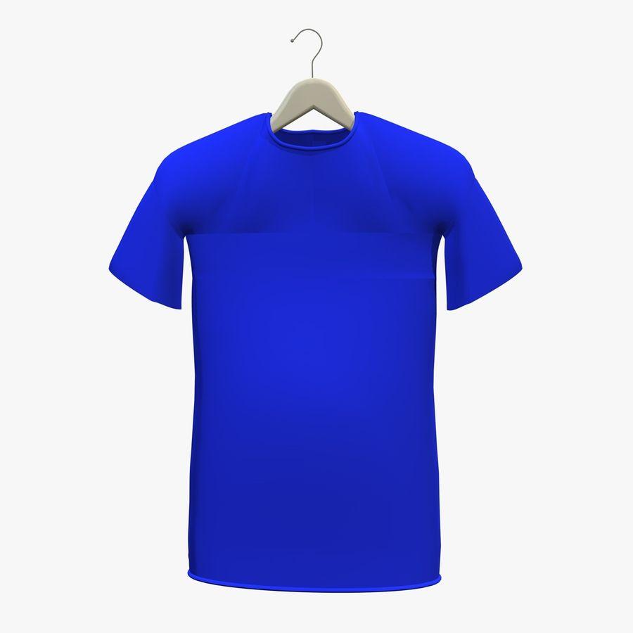 Koszulka na wieszaku royalty-free 3d model - Preview no. 2
