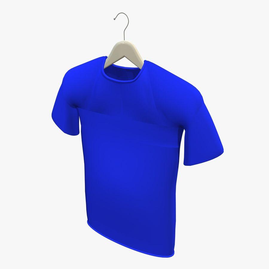 Koszulka na wieszaku royalty-free 3d model - Preview no. 4