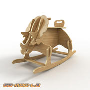 Toy Rockersaurus 3d model