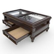 コーヒーテーブル01 3d model