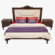 Bed Modenese 3d model