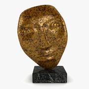 얼굴 조각 3d model