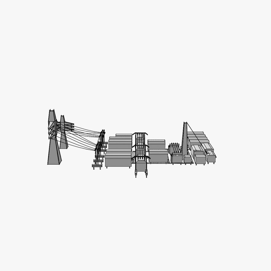 Yard Yard royalty-free 3d model - Preview no. 7