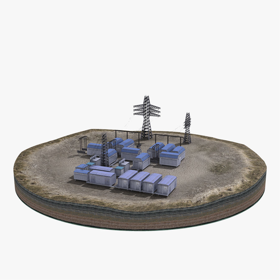 Yard Yard royalty-free 3d model - Preview no. 2