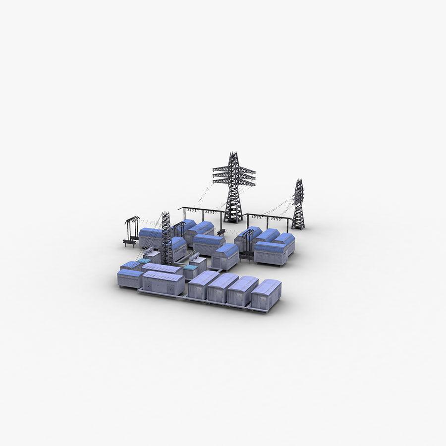 Yard Yard royalty-free 3d model - Preview no. 1