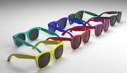 スーパーサングラス 3d model