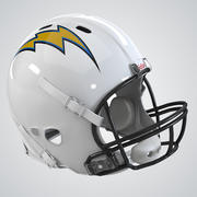 Футбольный шлем 3d model