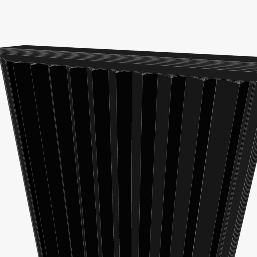 Panneau rotatif à trois panneaux royalty-free 3d model - Preview no. 5