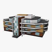Levande hus 3d model