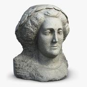 雕塑凯瑟琳一世 3d model