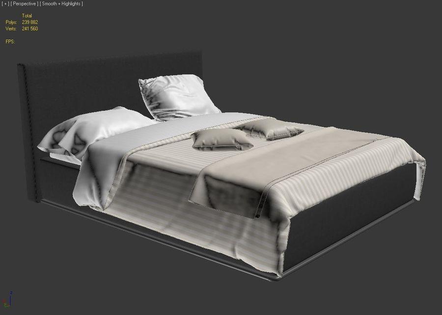 Linens Set royalty-free 3d model - Preview no. 10